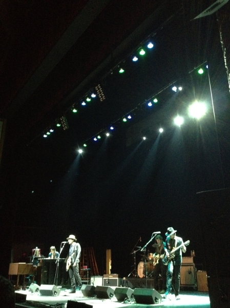The Wallflowers in Kansas City.