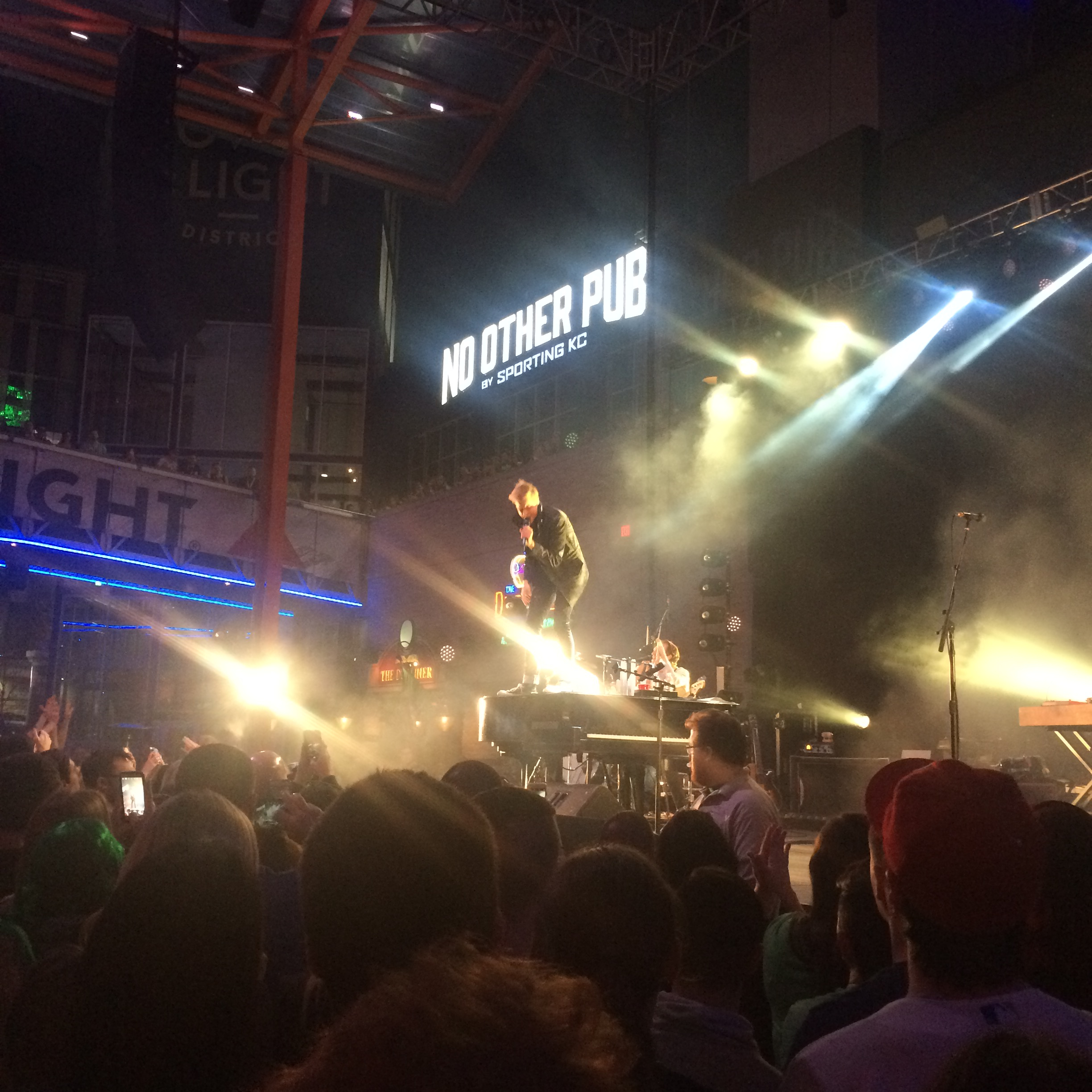 Andrew McMahon In The Wilderness At The KC Live Block, 3/17/17
